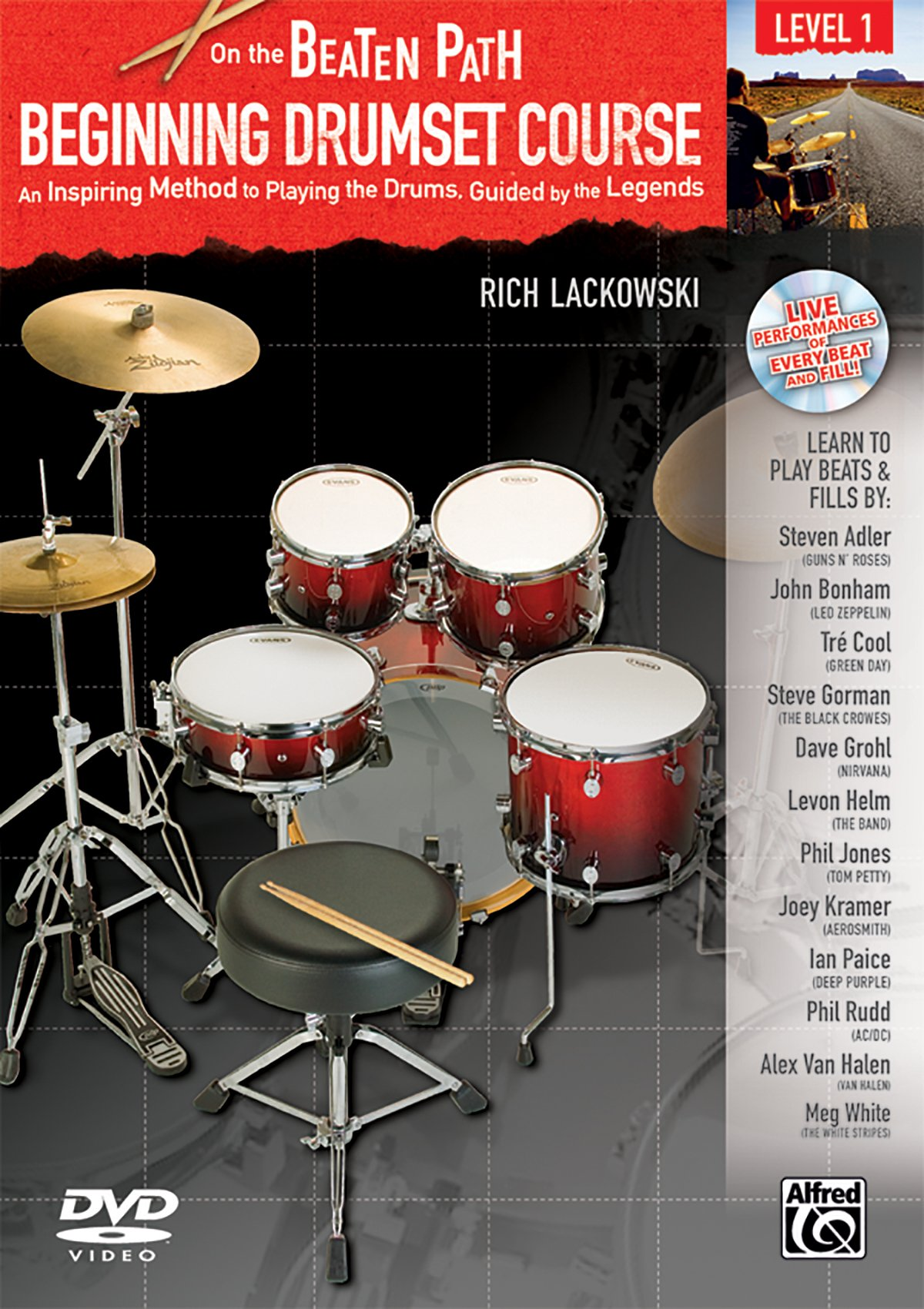 On The Beaten Path Beginning Drumset Course Level 1 An