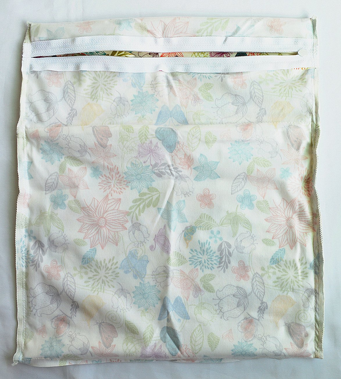 Farm Wet Dry Bag Baby Cloth Diaper Nappy Bag Reusable with Two Zippered Pockets