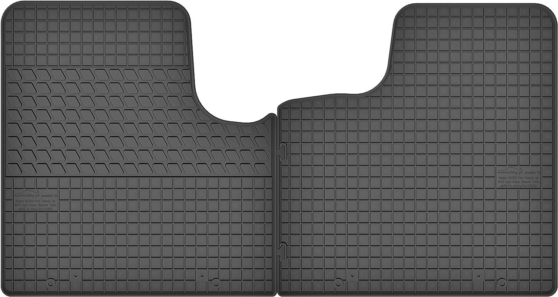 Motohobby Gummimatten Gummi Fußmatten Satz Für Opel Vivaro Ii Renault Trafic Iii Nissan Nv300 Fiat Talento Ab 2015 Passgenau Auto