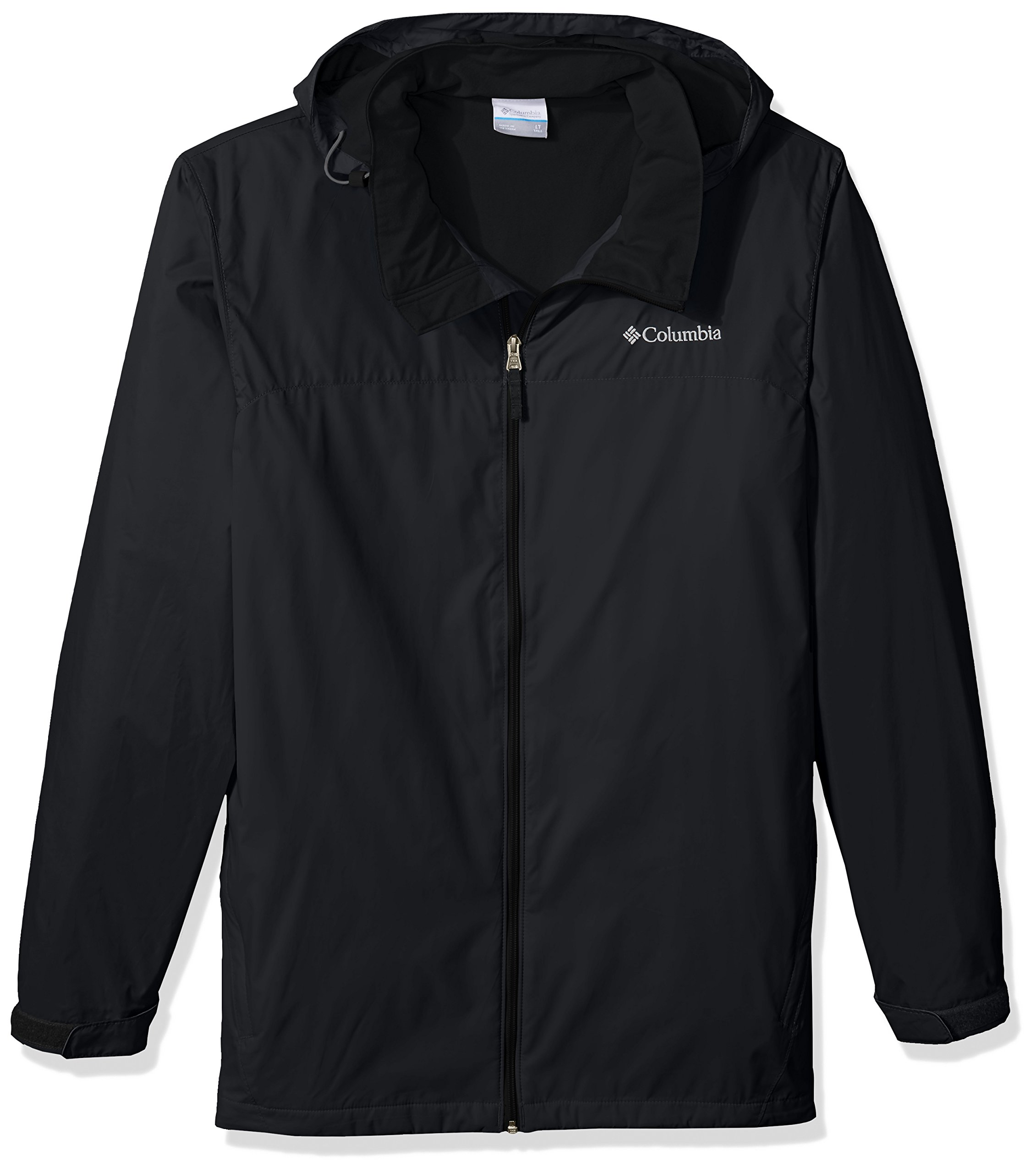 Columbia Men's Big and Tall Glennaker Lake Lined Rain Jacket, Black, 3XT by Columbia (Image #1)