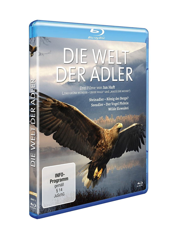 Die Welt der Adler [Blu-ray]: Amazon.de: Jan Haft: DVD & Blu-ray