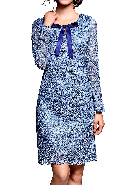 Sapphire Blue Casual Dresses