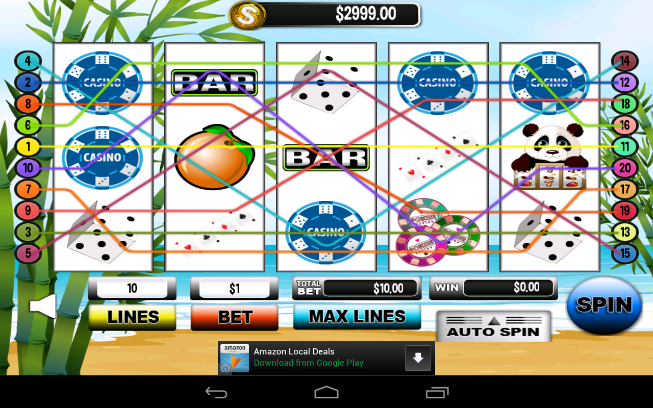 81 line casino