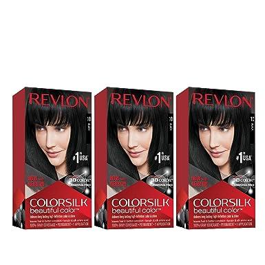 Revlon ColorSilk Tinte de Cabello Permanente Tono #10 ...