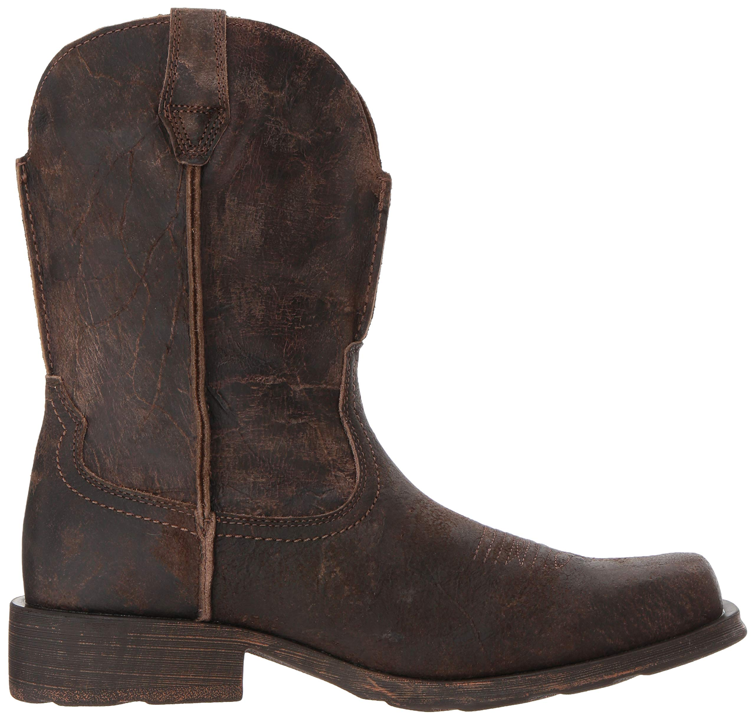 Ariat Men's Rambler Western Boot, Antiqued Grey, 13 2E US by ARIAT (Image #7)