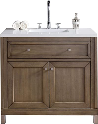 James Martin Chicago 36 . Single Bathroom Vanity Top Not Included