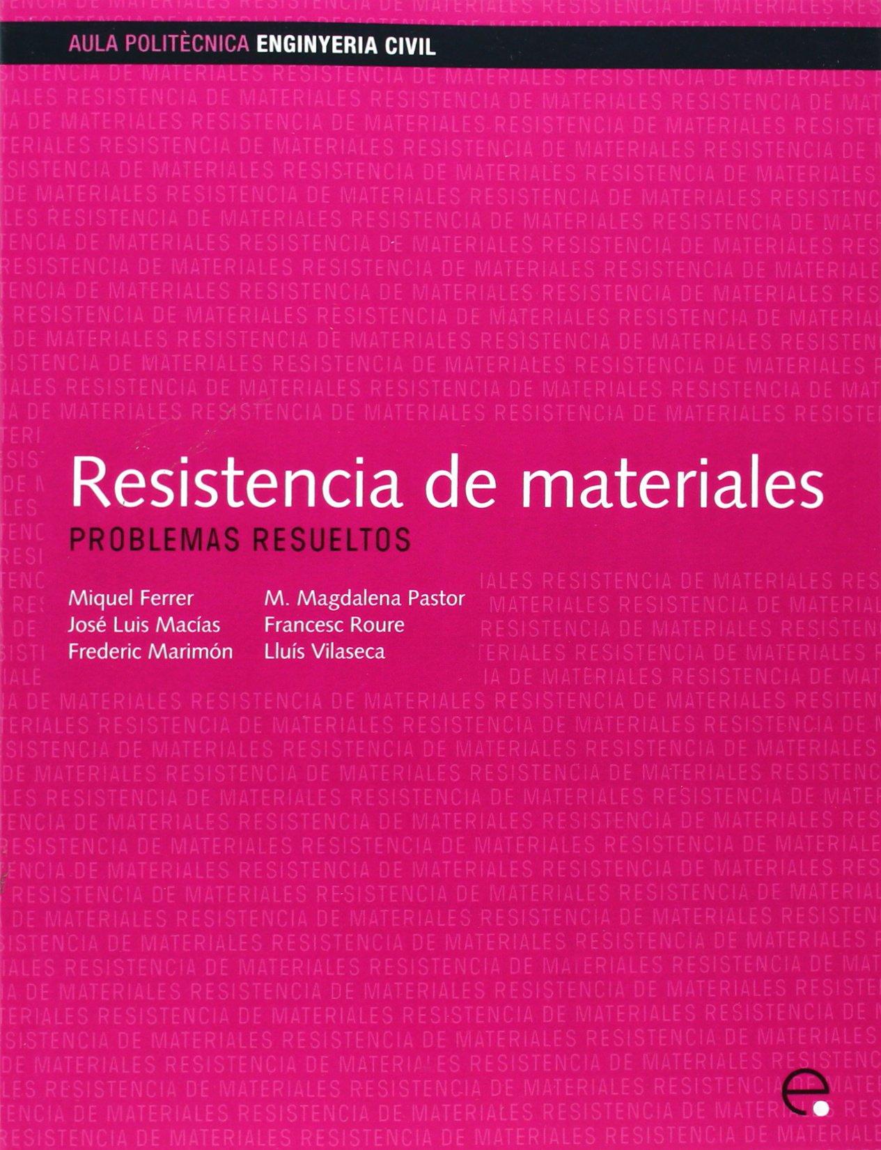 Download Resistencia de Materiales. Problemas Resueltos (Spanish Edition) ebook