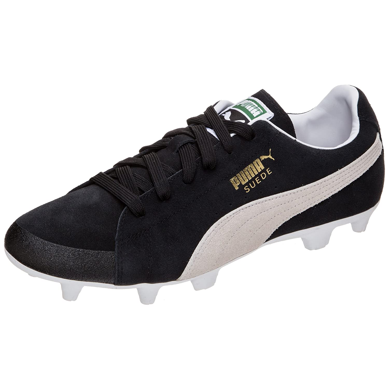f01bdd33 Puma Men's Future Suede 50 Fg/Ag Football Boots Black/Beige: Amazon ...