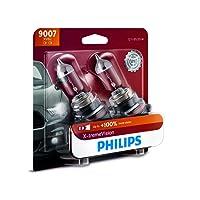 Philips 9007 X-tremeVision Upgrade Headlight Bulb, 2 Pack