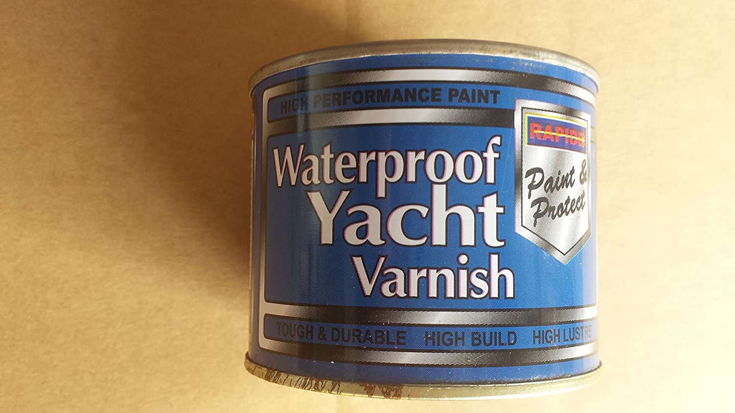 Varnish 180ml Can 'For Yachts' Waterproof Rapide