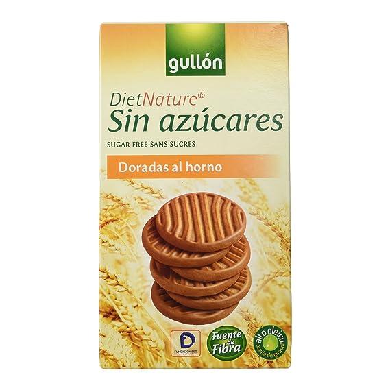 Gullón - Diet Natures - Galletas al horno sin azúcares - 330 g