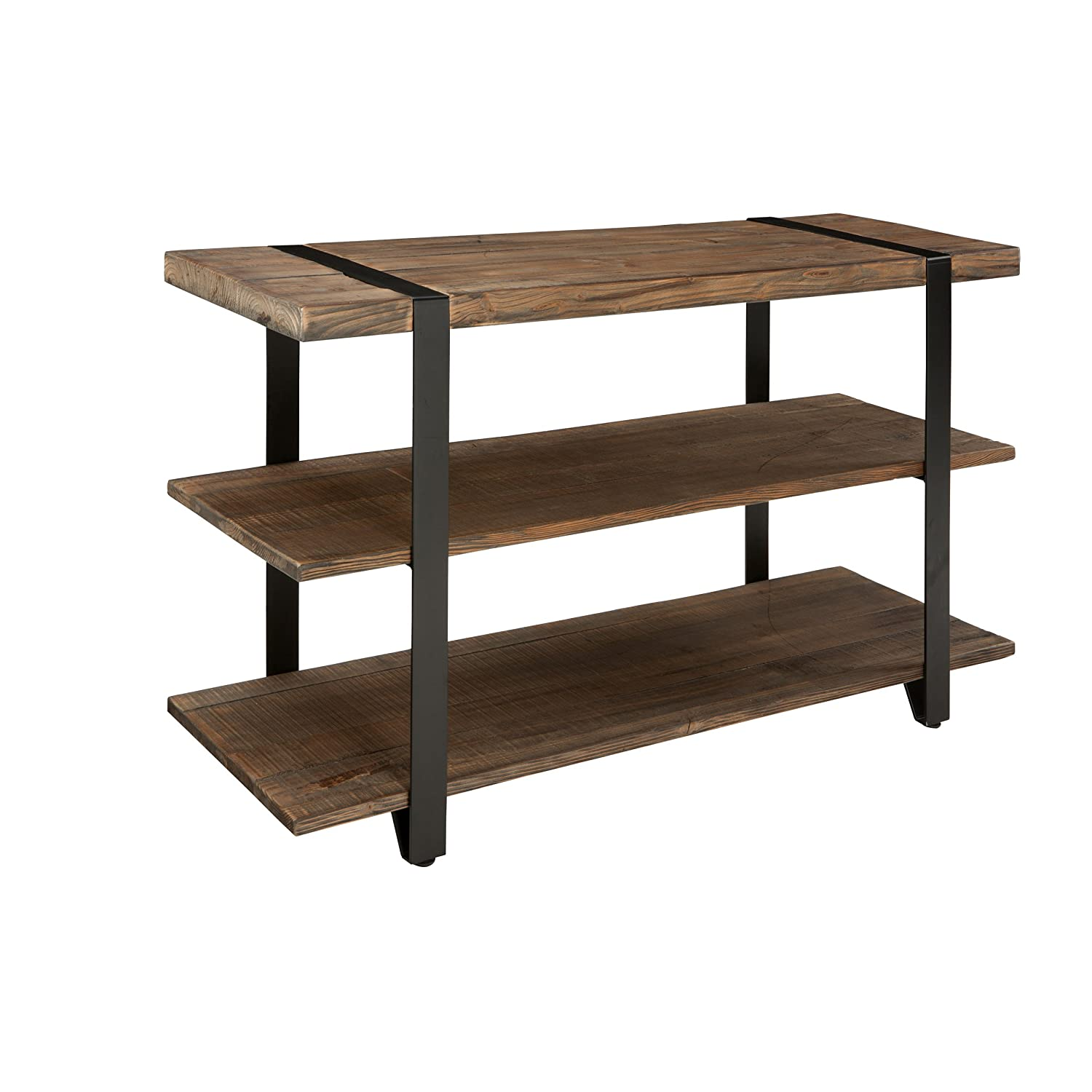 Alaterre Stowe 48 L Reclaimed Wood Media Console Table, Natural