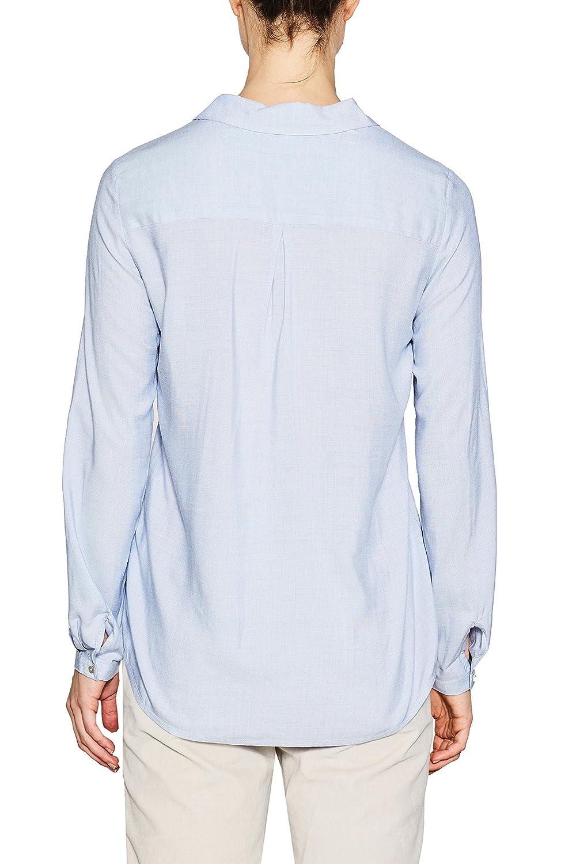 ESPRIT dam blus Blå (ljusblå 440)