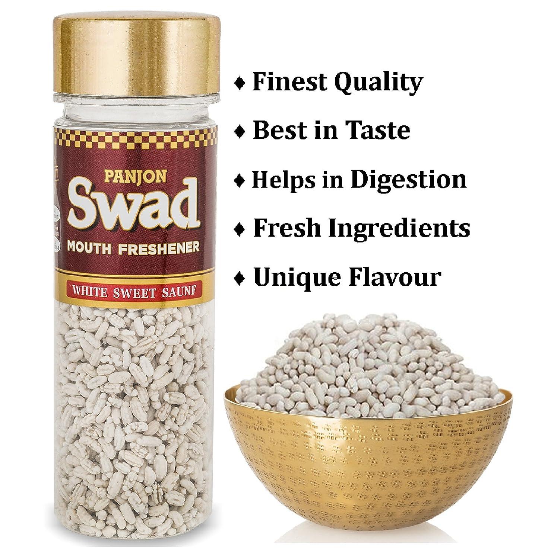 Panjon Swad Mouth Freshener White Sweet Saunf 110g Close Up Mentol Fresh 160gram Cloudtail India
