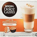 Nescafé Dolce Gusto - Latte Macchiato Caramel - Cápsulas de Café - 16 Cápsulas