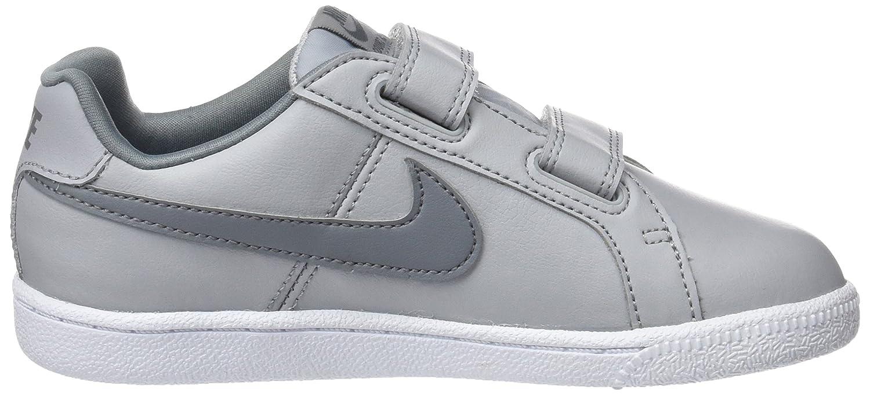 Nike Jungen Court Royale (PS) Sneaker, Grau (Wolf Grey/Cool Grey White), 30 EU