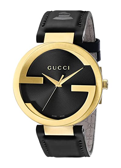 3ba8eb46dcf Buy Gucci Analogue Black Dial Men s Watch - YA133208 Online at Low Prices  in India - Amazon.in
