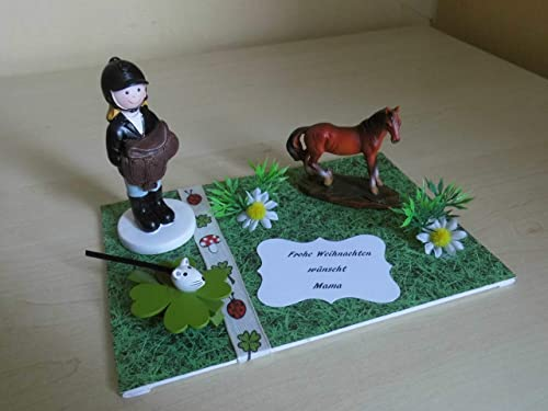 Geldgeschenk Reiterin Pferde Zum Geburtstag Amazon De Handmade