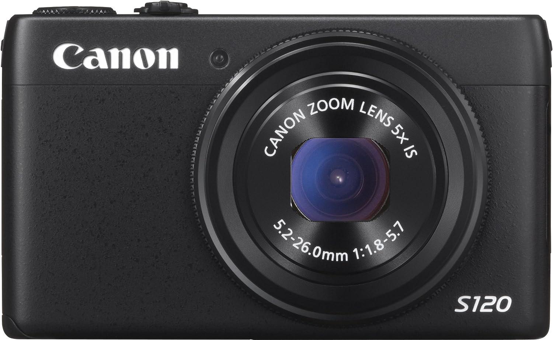 Canon Powershot S120 - Cámara compacta de 12.1 Mp (pantalla de 3 ...