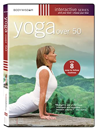 Amazon.com: Yoga over 50 DVD - Workout Video with 8 Routines ...