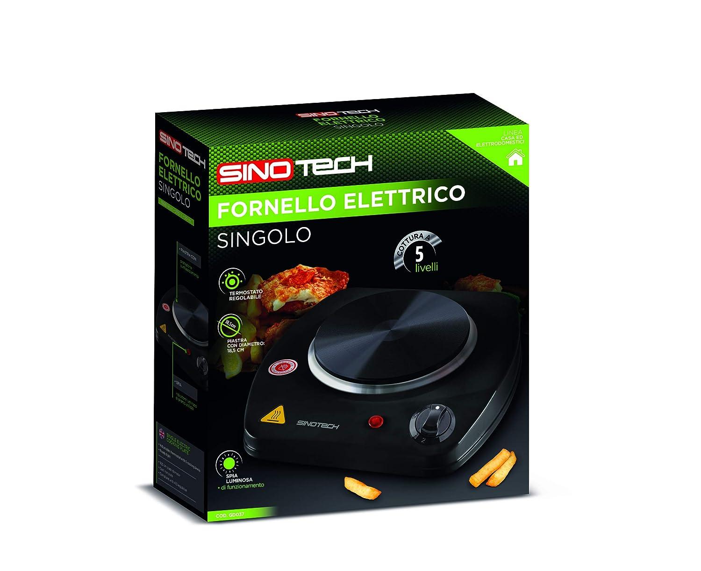 Sinotech Gd037 Hornillo eléctrico individual: Amazon.es: Hogar