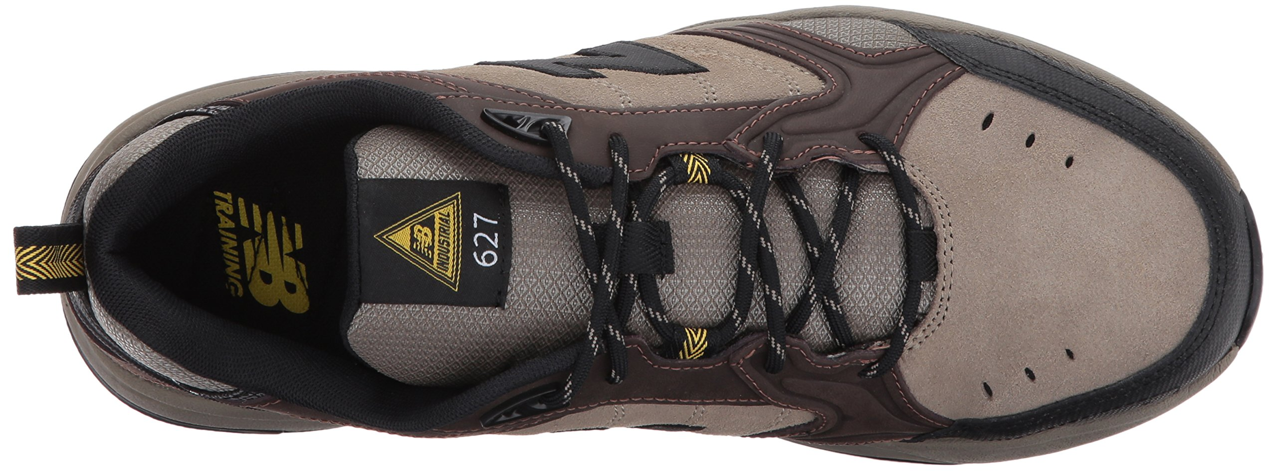 New Balance Men's MID627 Steel-Toe Work Shoe,Brown,18 4E US by New Balance (Image #8)
