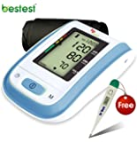 Bestest BP Automatic Digital Blood Pressure Monitor (Blue)