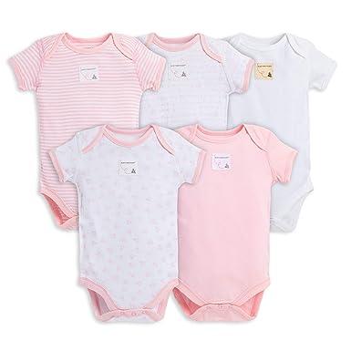 1143a87251e7 Amazon.com  Burt s Bees Baby - Unisex Baby Bodysuits