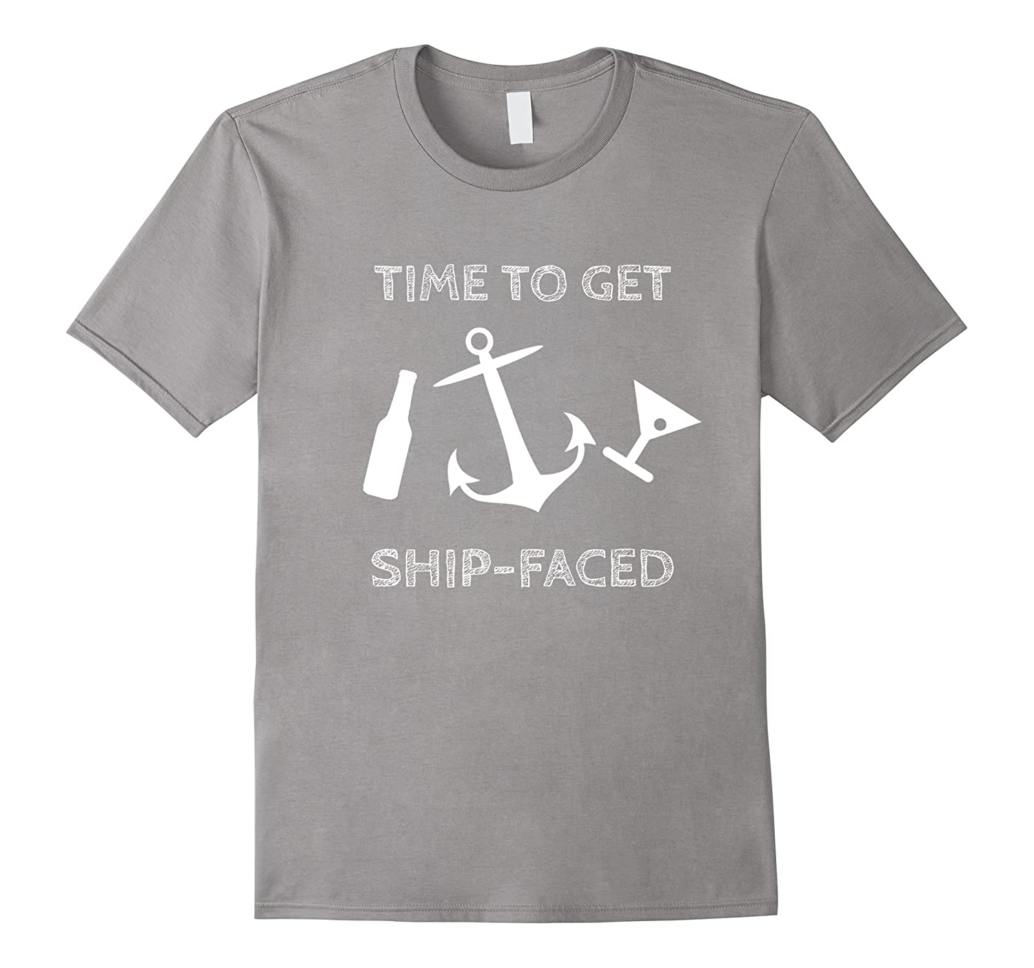 Time To Get Ship Faced – Cruise Ship Shirt – Cruise Apparel-Teevkd