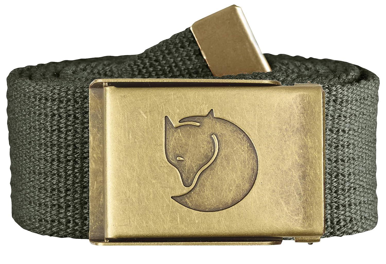 FJ/ÄLLR/ÄVEN Mens Canvas Brass 4 Cm Belt