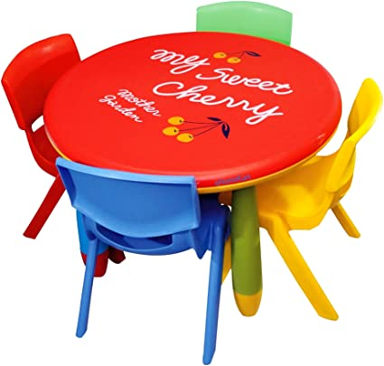 Playgro Round Table PSF 120 For Kids (Colour May Vary)