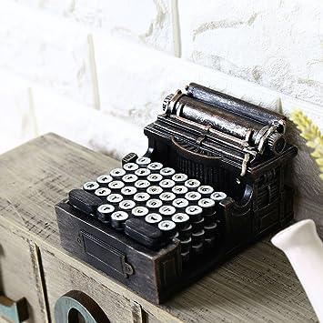 Su @ da Vintage/de estilo antiguo café tiendas/manualidades/decoración/resina alfombrilla de fotos nuevo/accesorios /máquina de escribir e26-0526-dzjpd: ...