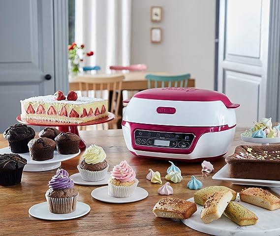 Tefal kd8018 Cake Factory Panificadora, 1200, plástico, blanco ...
