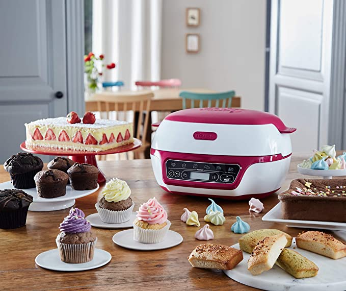 Tefal kd8018 Cake Factory Panificadora, 1200, plástico ...