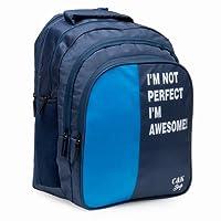 Chris & Kate Big 42 litres Comfortable Blue Casual Laptop Bag    College Bag    Backpack   School Bag(CKB_182SE)