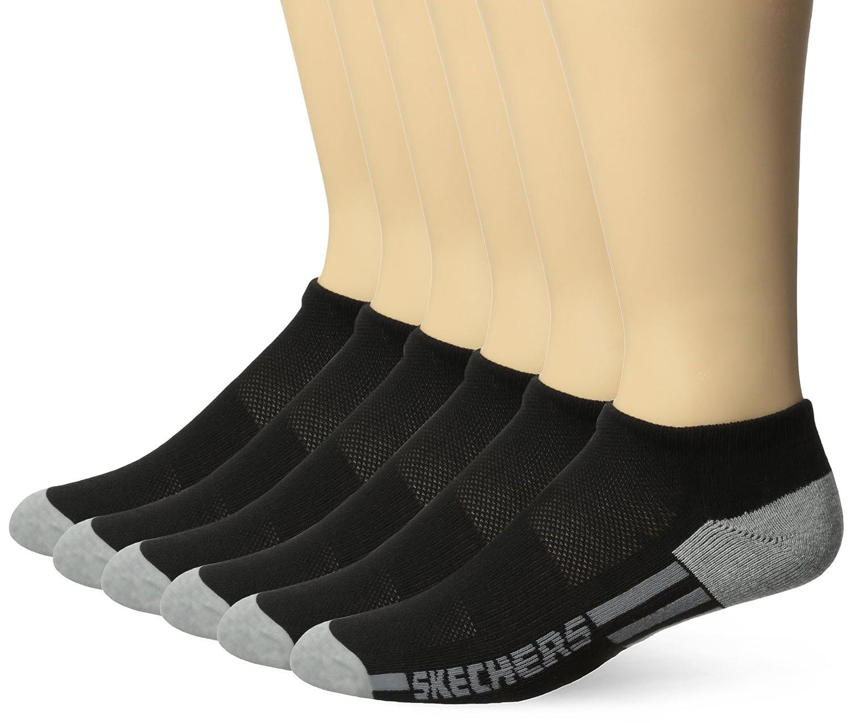 Skechers Mens 6 Pack Half Terry Socks