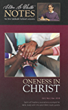 Oneness in Christ: Ellen G. White Notes