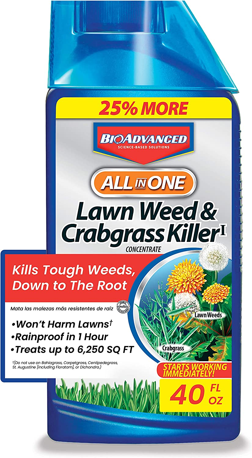 Bayer Bio-Advanced All-In-One Lawn Weed and Dallisgrass Killer