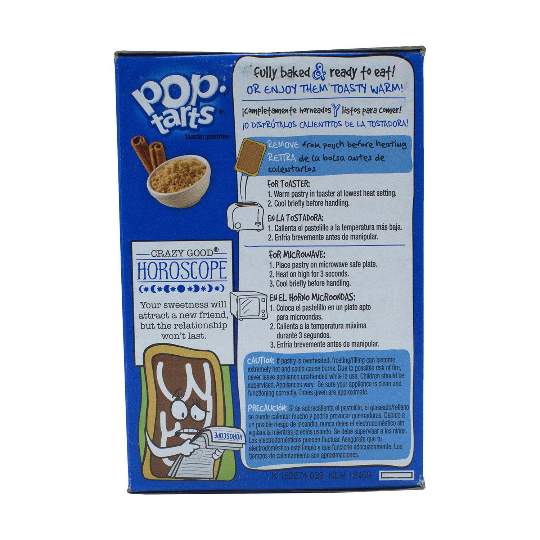 Pop Tarts Brauner Zimt Zucker 416g: Amazon.com: Grocery ...