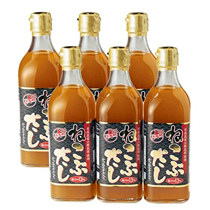 TV通販で放送「ねこぶだし」500ml×6本 レシピ付き 北海道