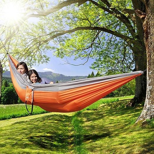 25 opinioni per Ohuhu® 300cmX200cm Coppia Amaca Dondolo Viaggio Campeggio Amache Giardinaggio