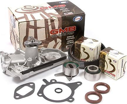 Timing Belt Kit Water Pump Tensioner Kits for 2001-2005 Kia Rio 1.5L 1.6L DOHC 16V Engine A5D A6D