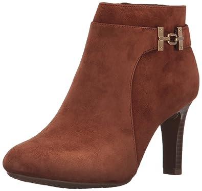 Bandolino Women's Lappo Ankle Boot, Brandy, ...