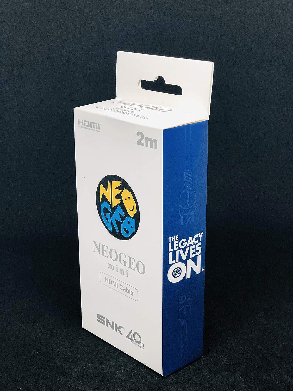 Neo Geo Mini - Cable HDMI Mini 2 M (Neo Geo): Amazon.es: Videojuegos
