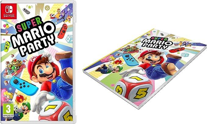 Super Mario Party + Cuaderno: Amazon.es: Videojuegos