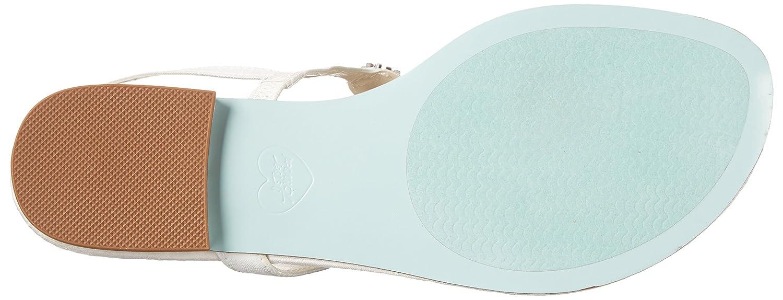 Blue by Betsey Johnson Women's SB-Gem Flip Flop B00O9TJXQK 7.5 M US Ivory Satin