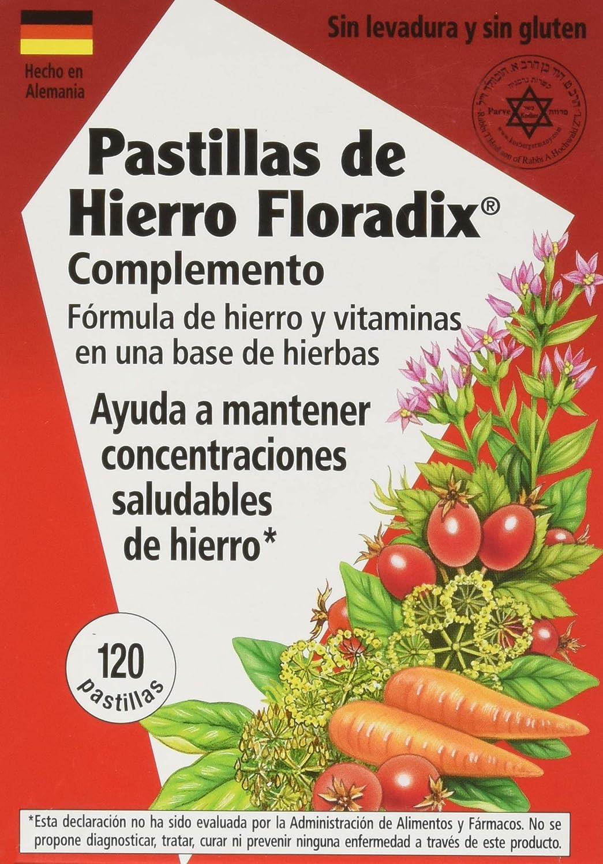 Amazon.com: Salus Haus Floradix Hierro comprimidos 120 Tabs ...