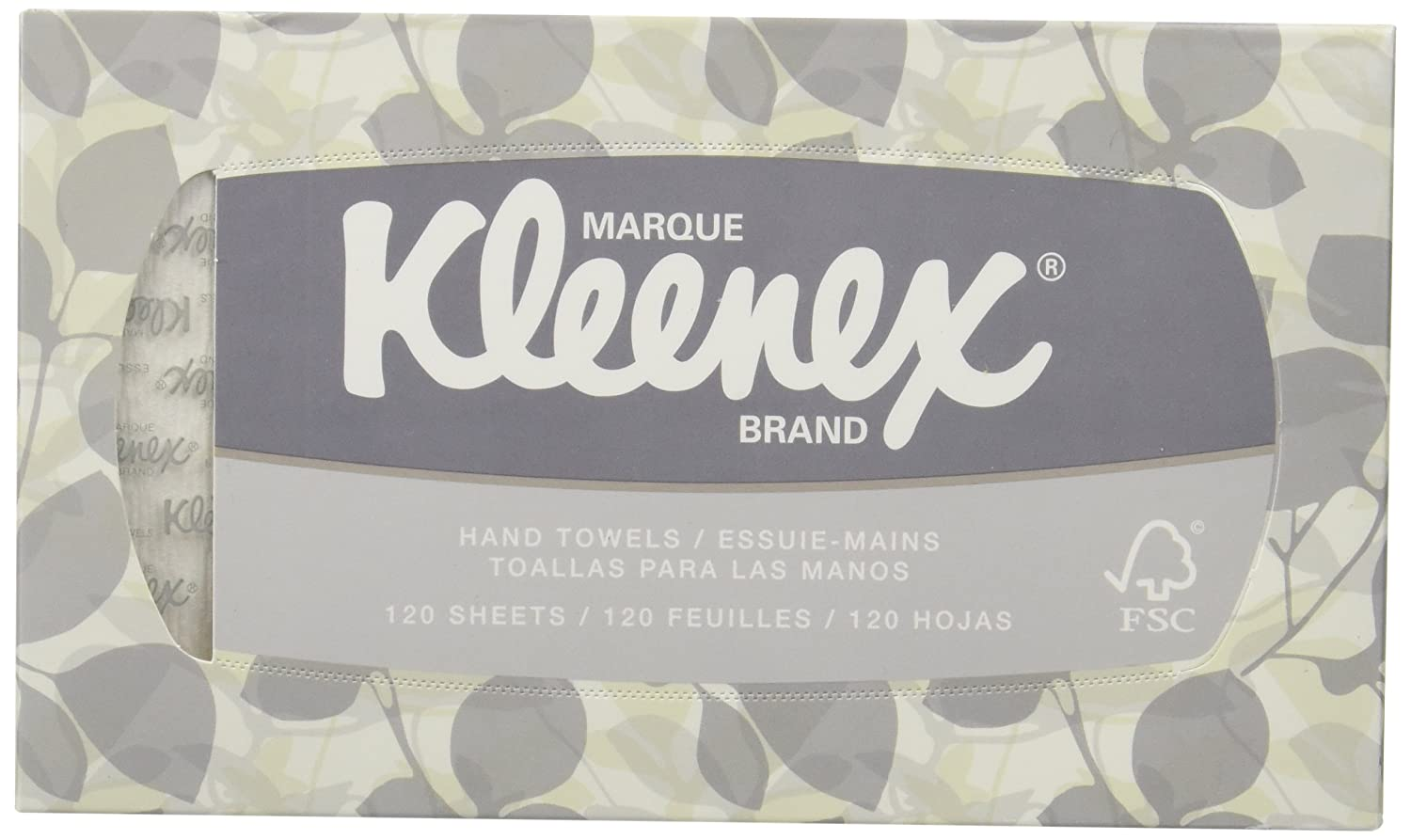 Amazon.com: KLEENEX Pop-Up Box Hand Towels, Paper, 9 x 10-1/2, 120/pack: Industrial & Scientific