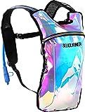 Sojourner Rave Hydration Pack Backpack - 2L Water Bladder Included for Festivals, Raves, Hiking, Biking, Climbing…
