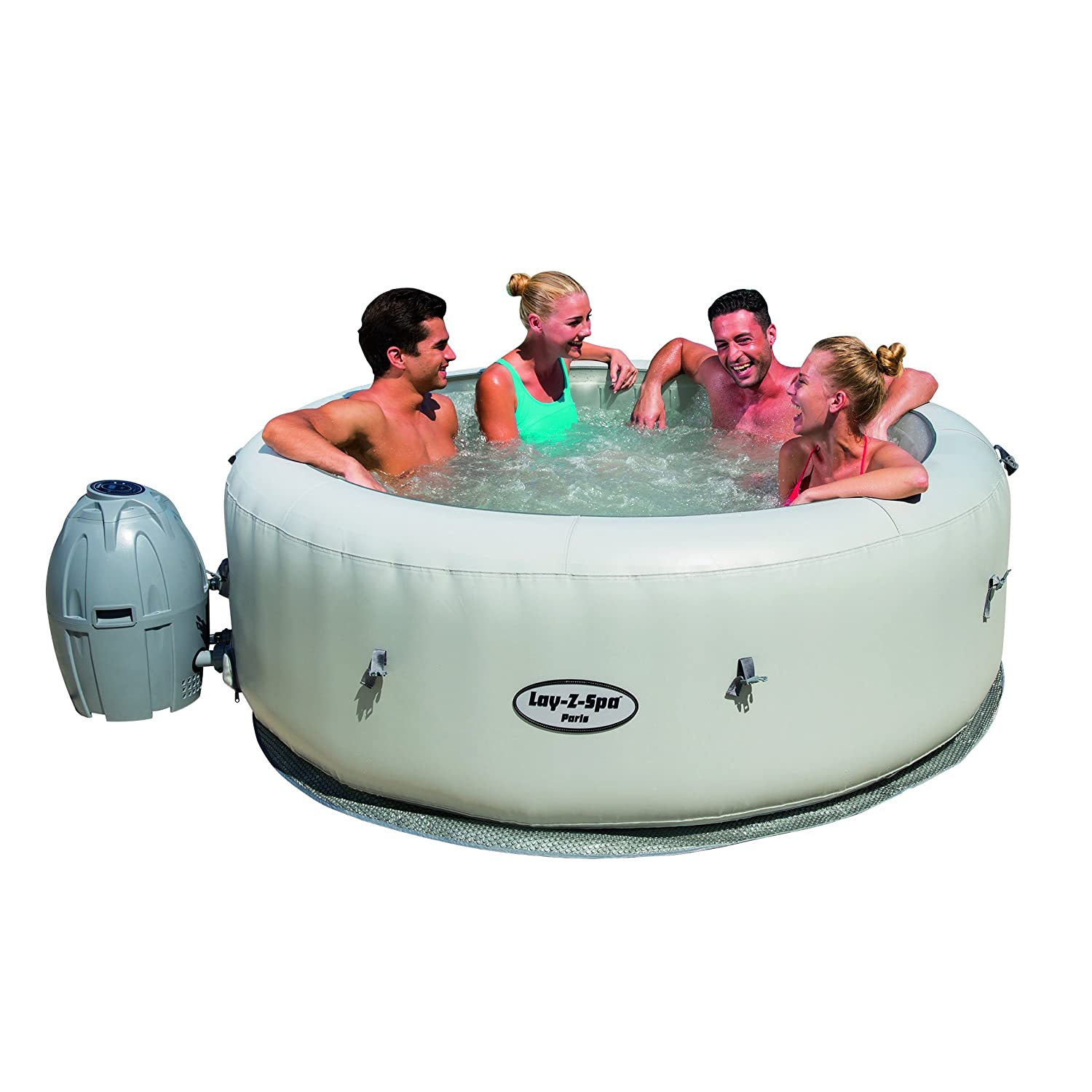 Top 3 best inflatable hot tubs under 500 review 2017 for Bestway vs intex